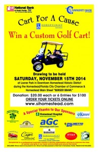 Cart for a Cause Drawing!  @ Losner Park | Homestead | Florida | United States